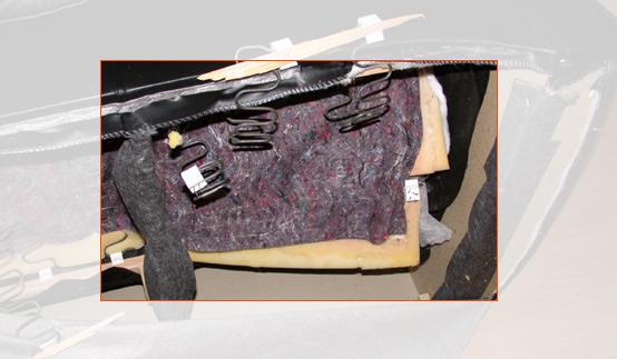 Beispiele für häufige Schadensfälle im Bereich Polstermöbel: Beschädigung von Polstermöbeln