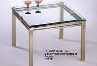 Couchtisch Glas Metall
